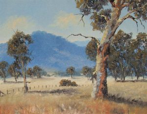 The Outback, Oil, 38x31cm, $280
