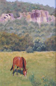 Scone NSW, Oil, 88x65cm, SOLD