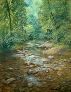 Currumbin Valley, Oil 53x62cm, $450