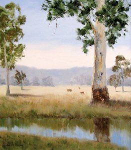 Lilydale Portrait, Oil, 48x59cm, $440