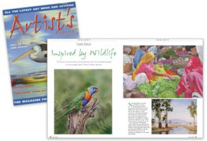 Artist Palette Magazine article