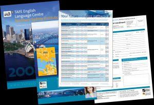 TAFE NSW, English Language Centre brochure