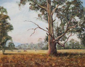 Lilydale Landscape, Oil, 75x50cm, SOLD
