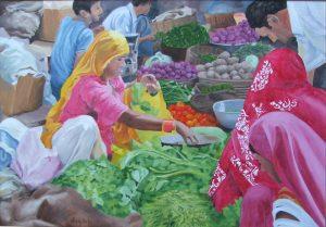 market day at Jaisalmere